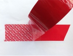Security Tamper Evident Tape - Void Protection Red Tape