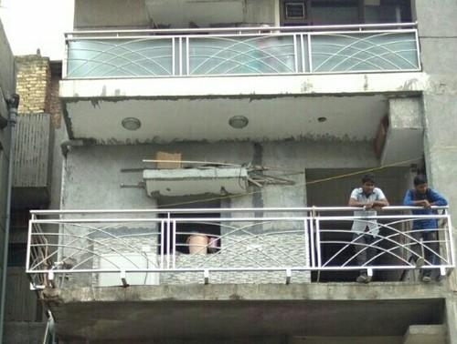 Stainless Steel Balcony Railing - Steel Balcony Railing ...