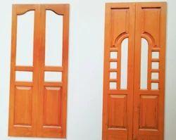 Pooja Teak Doors