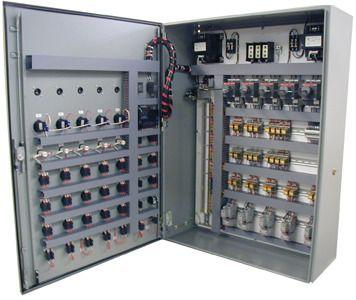 Relay Panel at Rs 100000 /onwards   रिले पैनल - Power on control relay wiring, door lock relay wiring, interposing relays phoenix,