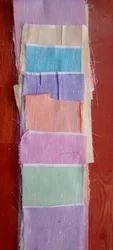 Multicolor Cotton Kurta Fabric, Plain/Solids