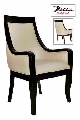 Delta Wooden Chair, For Office, Restaurant