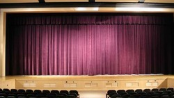 Motorized Auditorium Curtain system