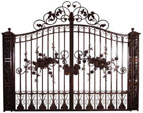 decorative home gate view specifications details of steel gate