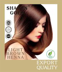 Henna  Based Light Brown Hair Dyes