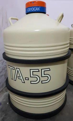 TA-55 LIQUID NITROGEN CONTAINER CRYOCAN