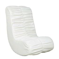 White Rocker Gaming Chair