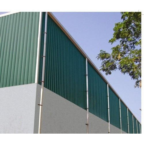 Pre Engineered Metal Building Manufacturers In Chicago Illinois: Green Mild Steel Pre Engineered Building, Thickness: 1.71