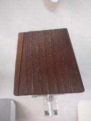 Box Wooden Wall Lamp