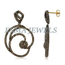 Diamond Pave Earring