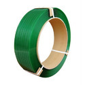 Zeal Polymers Embossed Dark Green Pet Strap Roll, For Industrial