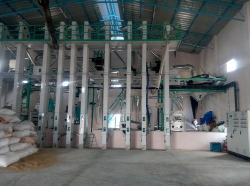 Turnkey Project Rice Mill Mini Modern Rice Mill