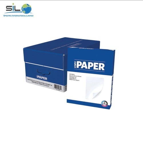 Wood Pulp White A4 Paper, For Office Stationery