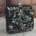 Square Shape Beautiful Clutches Bag