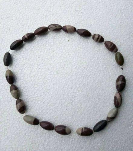 Shiva Narmada Lingam Pendant Natural River Narmada Banalinga Stone Necklace Rare