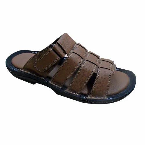 7eb0cd1b36b2 Leather Mens Slipper at Rs 769  pair(s)