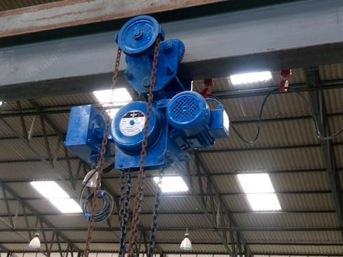 Motorized Chain Pulley Block, Capacity: 0.5 To 20 Tons