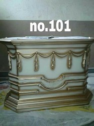 Rectangular Antique Wooden Table, For Hotel