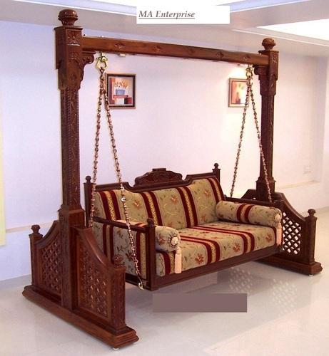 Traditional Indian Wooden Swing At Rs 195000 Piece