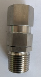 SS 1/2 NPT DC Cable Gland