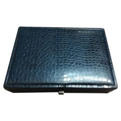 Leatherette Stock Box