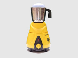 Stainless Steel Yellow Lakshmi Mixer Grinder, For Wet & Dry Grinding, 501 W - 750 W