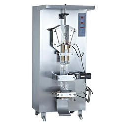 Stainless Steel Automatic Water Pouch Packing Machine, Voltage: 220 V
