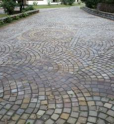 Natural Cobbles for Roads