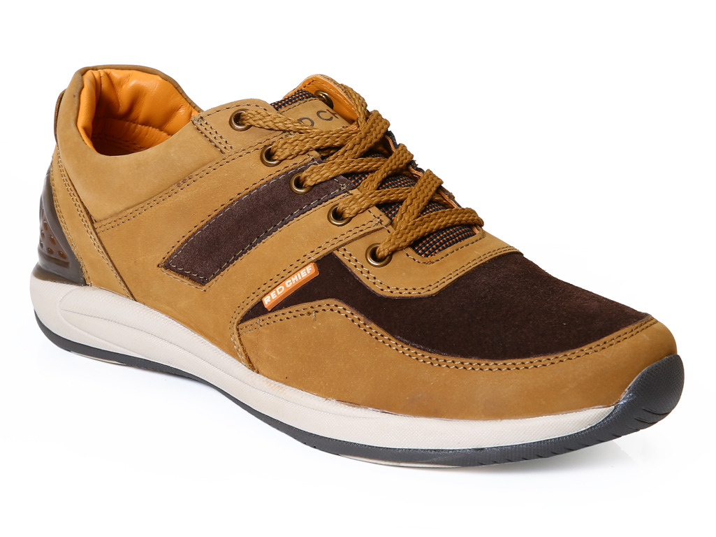 Leather Red Chief Lace Up Men's Casual