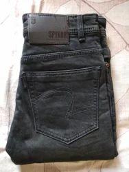 Men Blue Denim Jeans, Age Group: 18