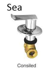 Sea Concealed Bathroom Accessories