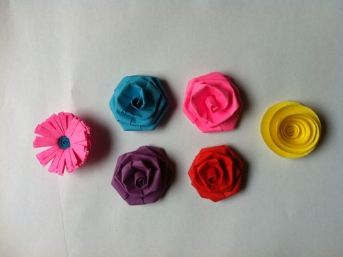 Small paper flowers various types kagaz ke phool hiranya small paper flowers various types mightylinksfo