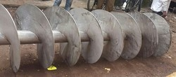 Sugar Mill Screw Conveyor Pipe