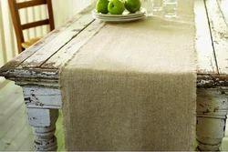 Cream Stupendous Home Decore Linen Table Runner