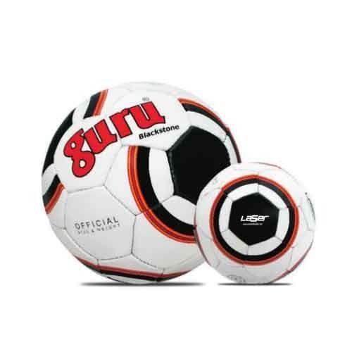 India Rugby Ball: Guru Laser Blackstone Soccer Ball