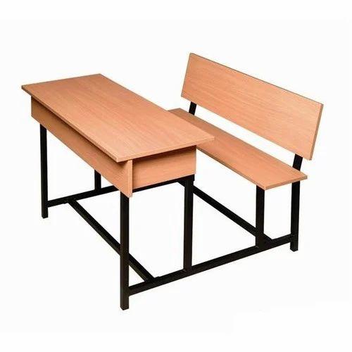 Wooden College Classroom Desk Rs 2200 Piece Model