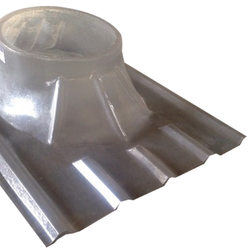 Polycarbonate Turbo Ventilator Base Plate