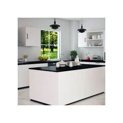 Korean Top Kitchen Platform. Island Kitchen With Korean Top And High Glossy Finish