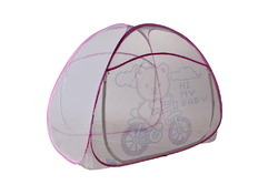 Folding Kids Mosquito Net-Pink