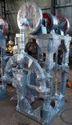 Iron Material Forging Hammer Machine, Size: 55kg, 3hp