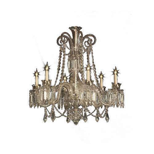 6 Light Small Chandelier