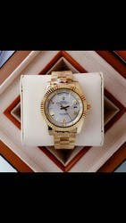 Rolex Golden Wrist Watch