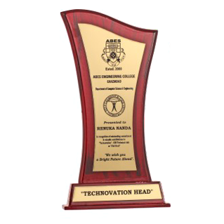 Wooden Award At Rs 349 Pieces
