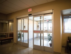 Automatic Wooden Glass Doors