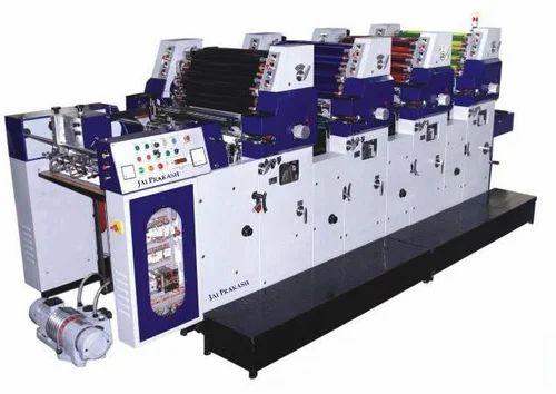 4 Color Sheet Fed Offset Printing Machine - Jai Prakash