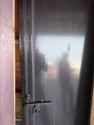 Black PVC Door