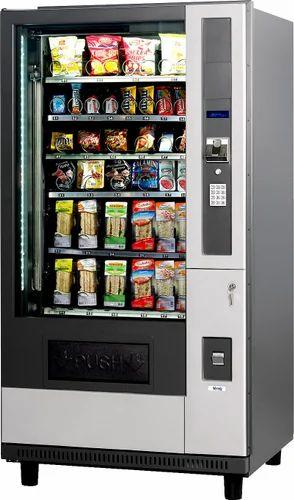 Smart Snacks Vending Machine Without Refrigeration