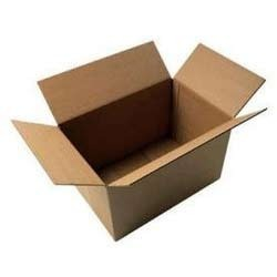 Square Paper Corrugated Packaging Boxes