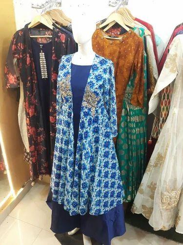 9252293c919 Gown with shrug ladies ka shrug women shrug का jpg 375x500 Blue shrugs for  dresses