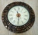 Wooden Handicraft Clock